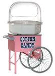 Sockervaddsmaskin med försäljningsvagn. Låna gratis när du hyr hos glasskalas.se