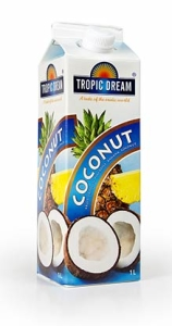 coconut heba tropic dream slush mix till drinkar
