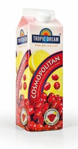 cosmopolitan heba tropic dream slush mix till drinkar
