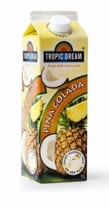 pina colada heba tropic dream slush mix till drinkar