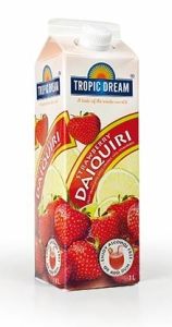 strawberry daiquri jordgubbe heba tropic dream slush mix till drinkar